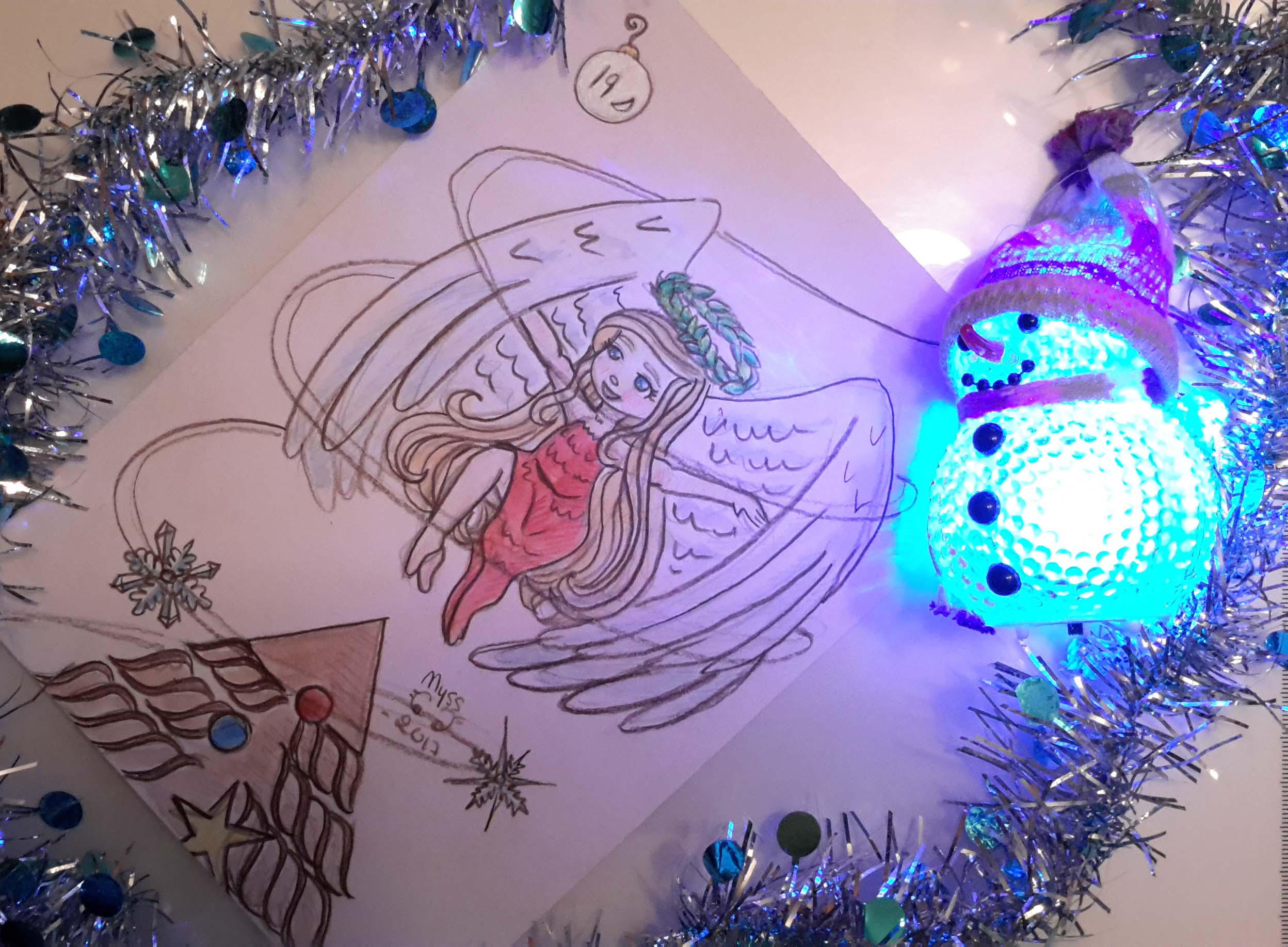 Un ange de Noël