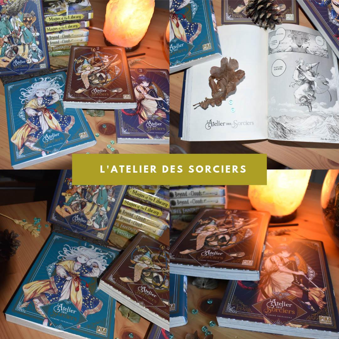 L'atelier des sorciers, manga